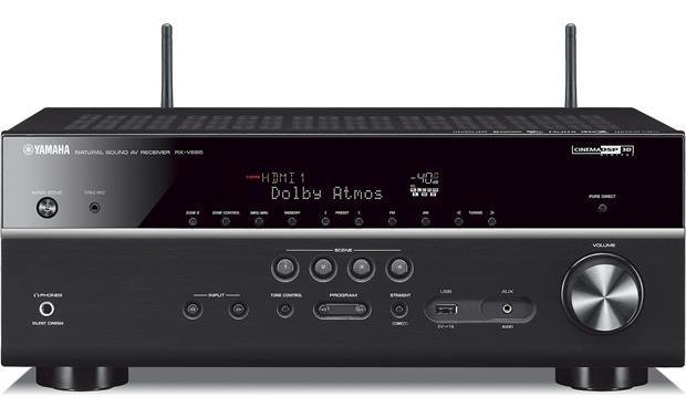 Yamaha RX-V685 4K UHD AV Receiver with 7 2 Dolby Atmos, DTS-X, HLG