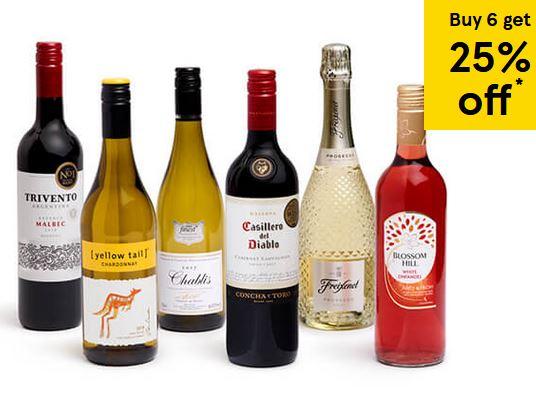 hotukdeals tesco wine