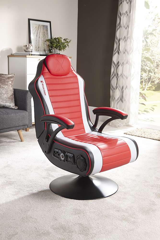 Sensational X Rocker Reno 4 1 Gaming Chair With Vibration 150 Smyths Uwap Interior Chair Design Uwaporg