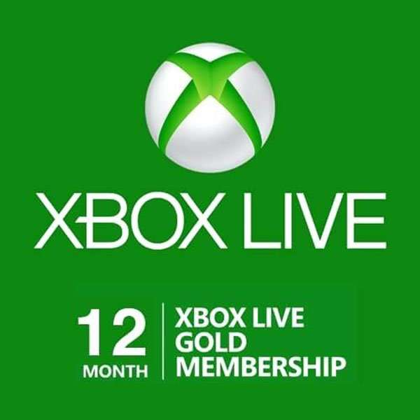 Xbox Live Gold 12 Months Subscription Code (VPN Activated