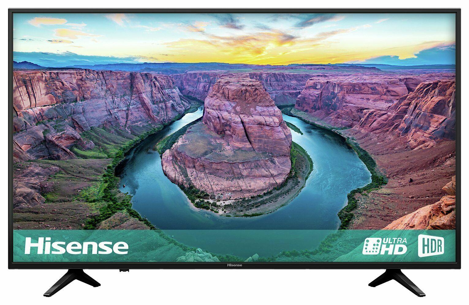 Hisense H43AE6100UK 43 Inch 4K Ultra HD HDR Freeview Play