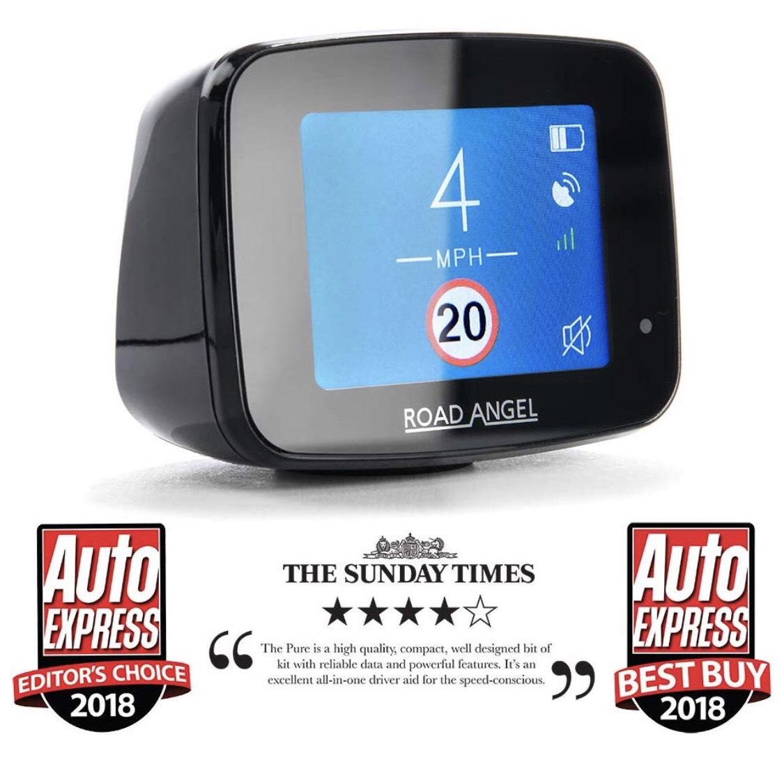 Road Angel Pure Camera Detector - £182 73 at Amazon - hotukdeals