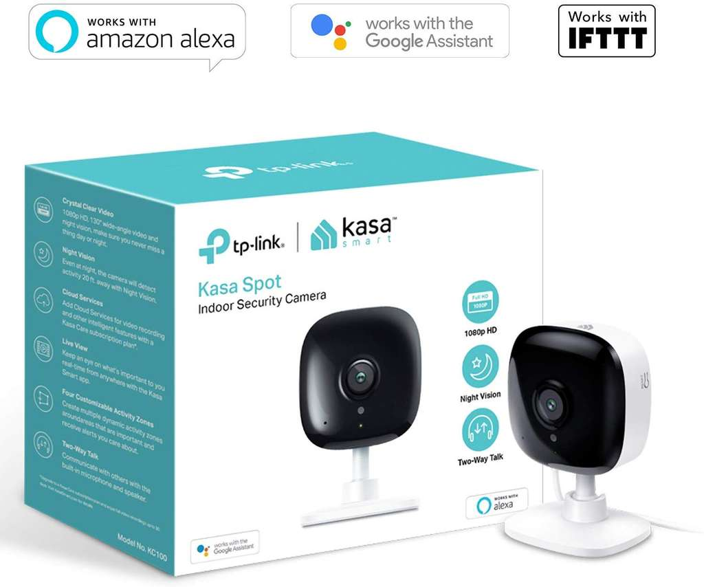 TP-Link Security Camera, Indoor CCTV, No Hub Required, 2-Way Audio with Night Vision - £29.99 @ Amazon - hotukdeals