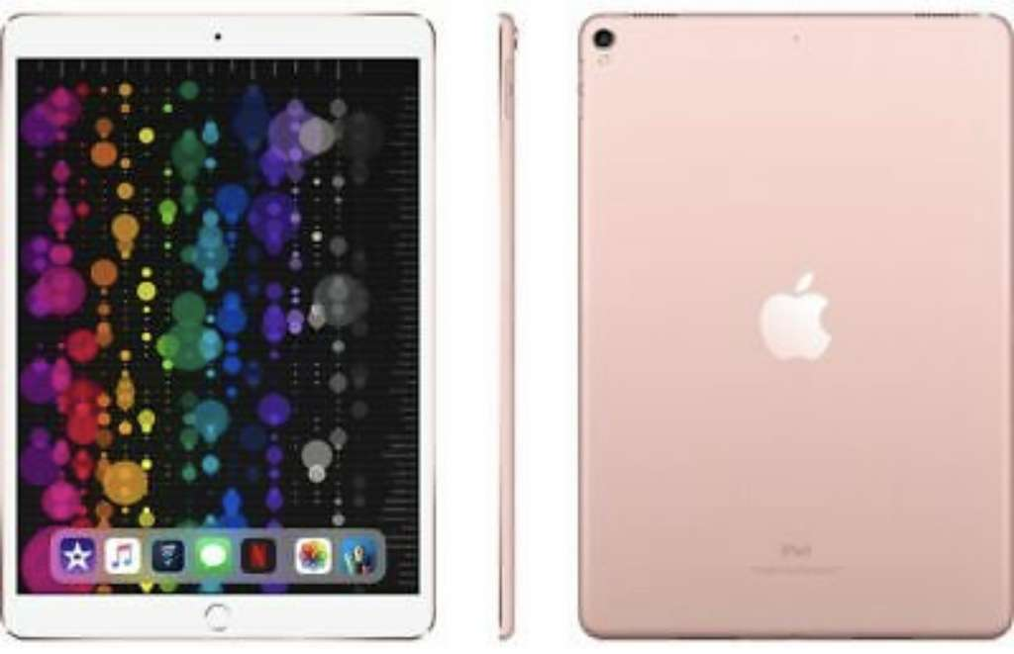 Apple 105 Ipad Pro 256 Gb Rose Gold 2017 44374 At