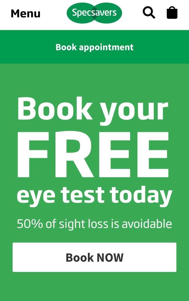 Specsavers UK Coupons & Promo Codes