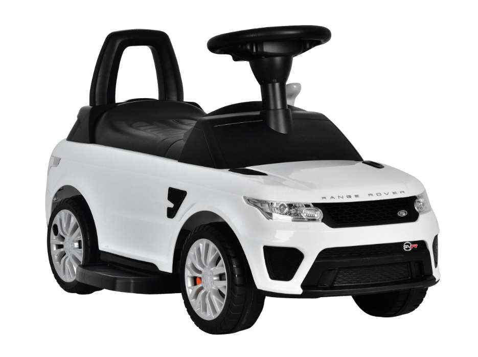 Toyrific TY6015WH Official Range Rover Sport SVR Kids Electric Ride On Car Sit and Go 2-in 1-Toy White