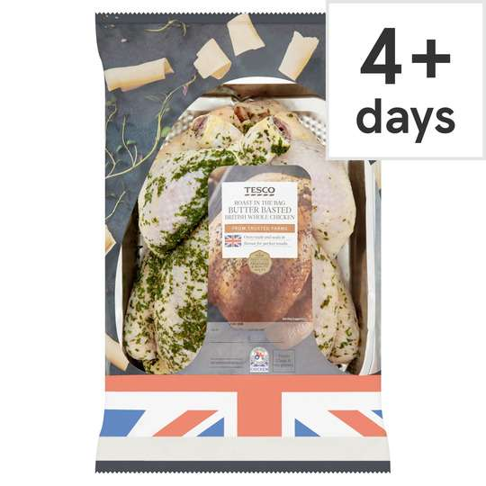 Tesco Roast In Bag Whole Chicken Butter 150kg 250 At Tesco