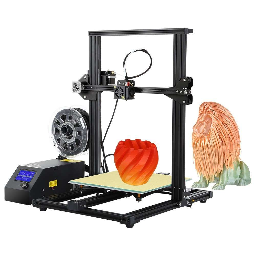 109° - Creality 3D CR-10S Self-assembly 3D Printer with 200g of filament £257.98 Delivered (EU Shipping) @ Tomtop