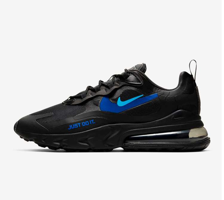 Nike Air Max 270 reacts trainers now £87.99 sizes 5.5 up to