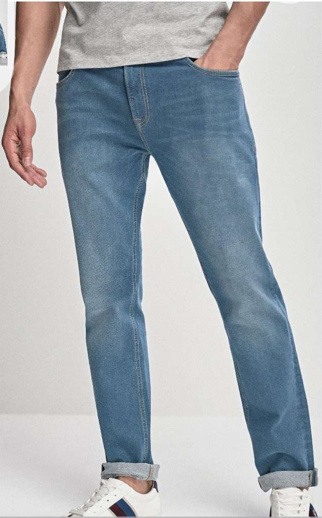 121° - Denim Slim Fit Green Tint Jeans (32S) at Next for £6.50 (free C&C)