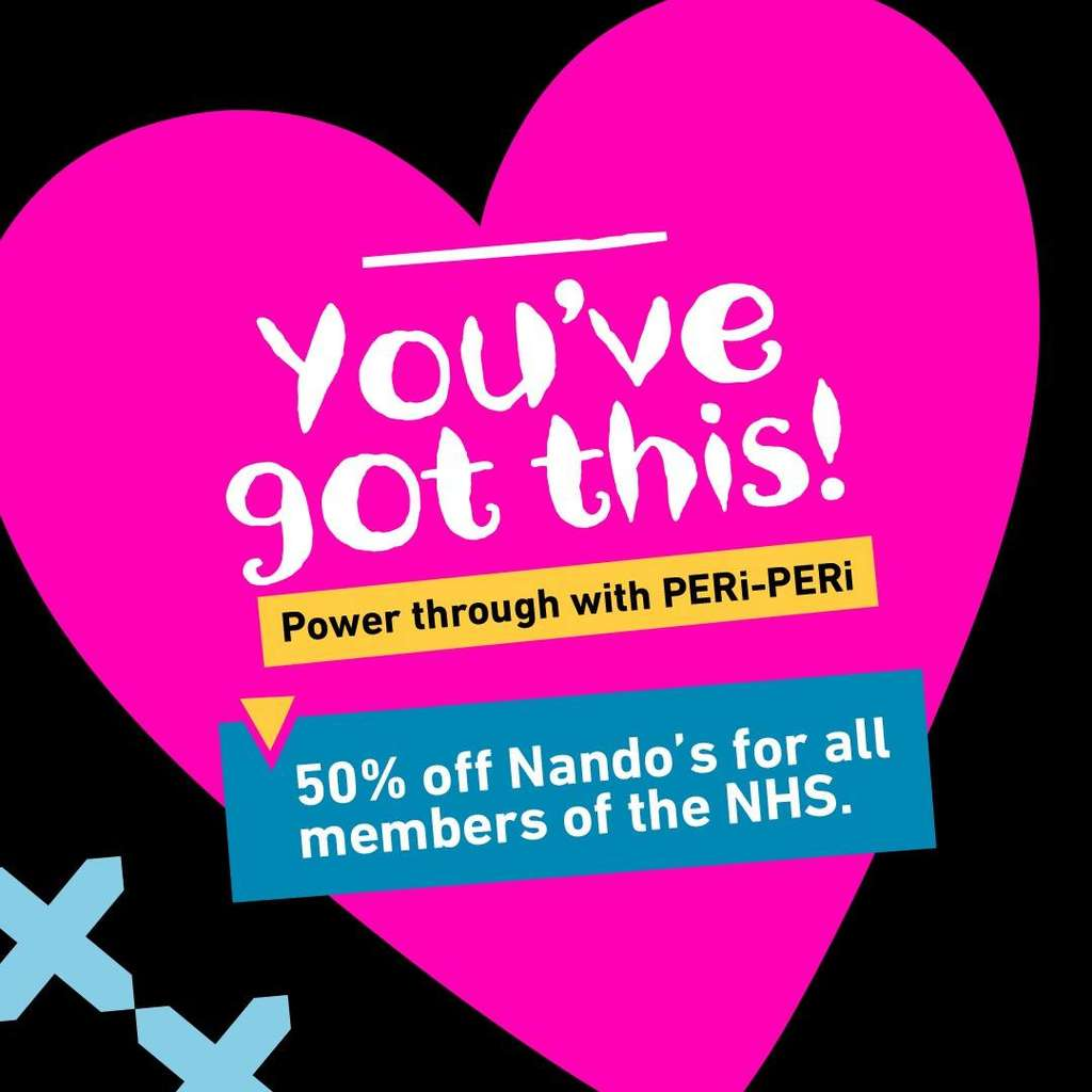 Image result for nandos 50%