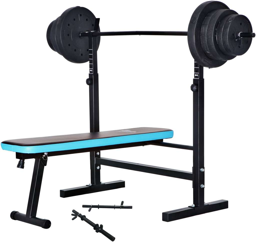 Men S Health Folding Bench With 50kg Weights 99 99 Argos Free Click Collect Hotukdeals