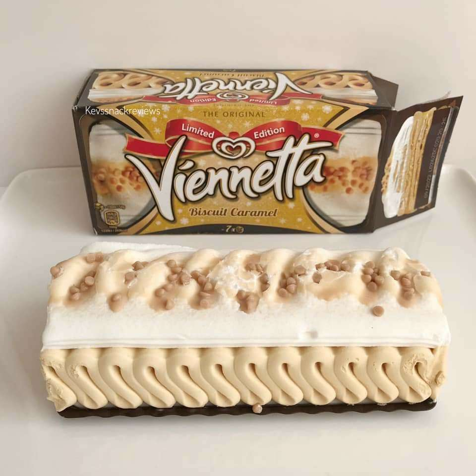 Wall's Viennetta Biscuit Caramel/Vanilla/Mint/Choc Orange etc are now only £1 @ Asda
