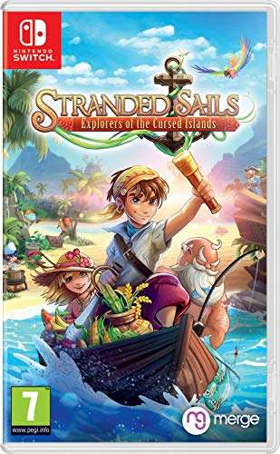 117° - Stranded Sails: Explorers Of The Cursed Islands - Nintendo Switch @ Amazon - PRIME £15.99 / NON PRIME £18.98