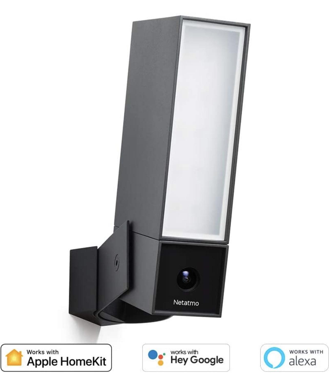 Netatmo Smart Outdoor Security Camera, Wi-Fi, Integrated ...