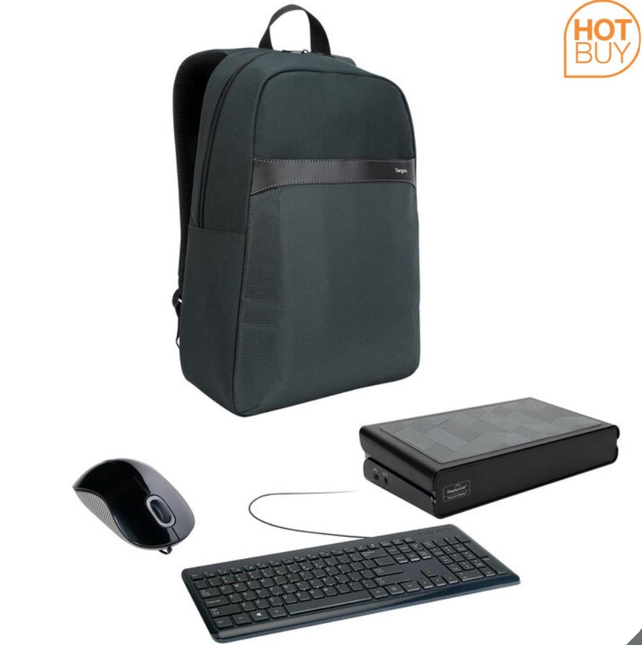 114° - Targus Mouse, Keyboard, Laptop Bag and Docking Station Bundle - £39.99 delivered at Costco