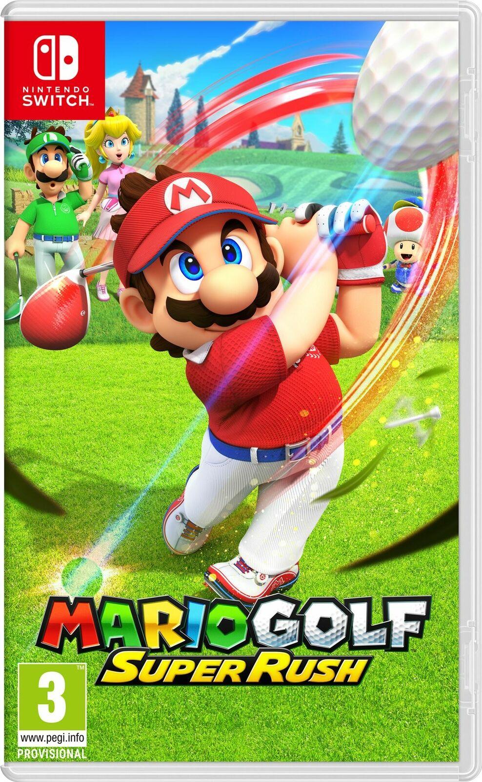 Mario Golf Super Rush (Switch) - £35.99 Delivered using code @ Boss Deals via eBay - hotukdeals