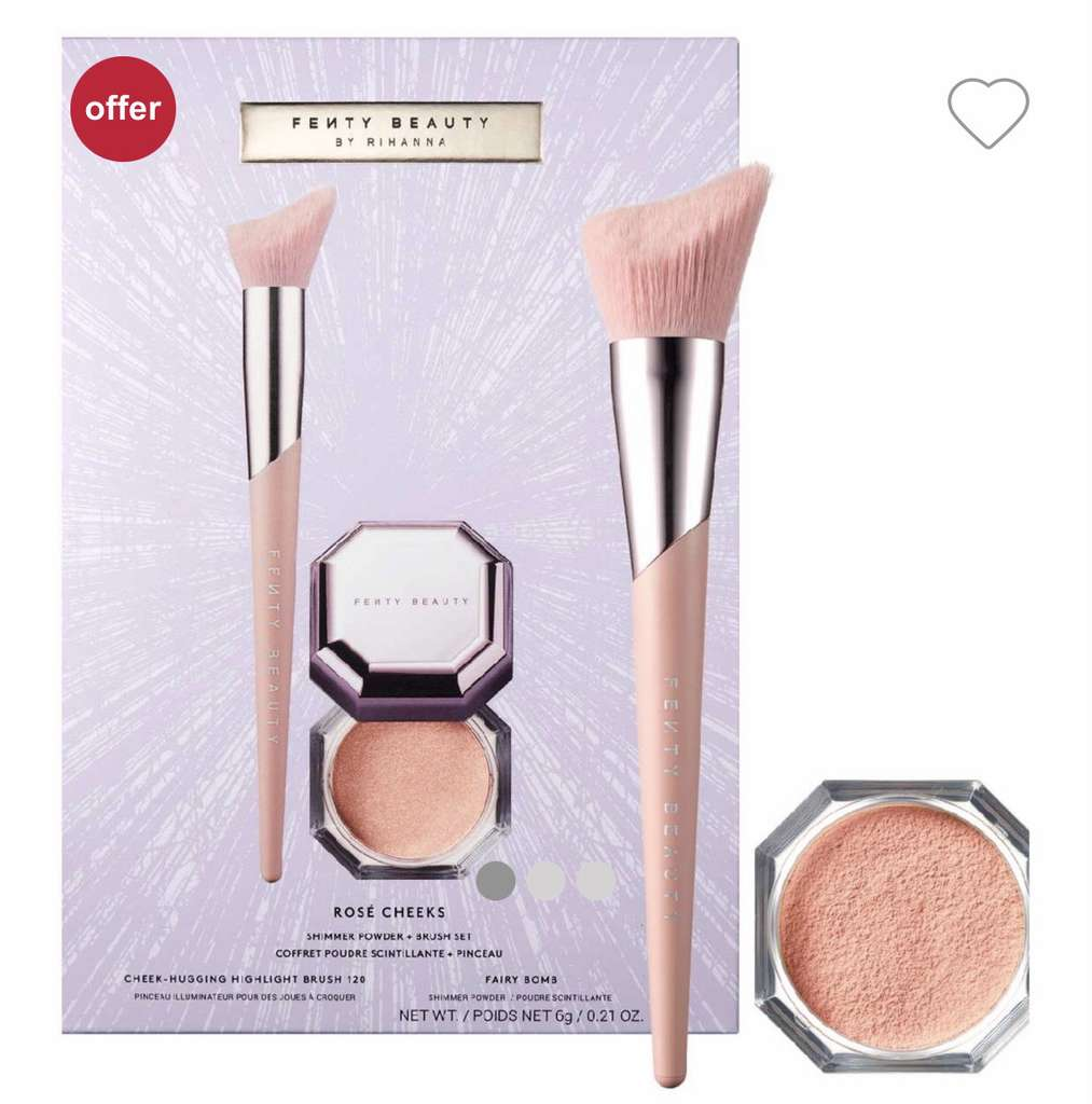 Fenty Beauty Rosé Cheeks highlighting powder £10 + £1.50 click and collect at Boots - hotukdeals