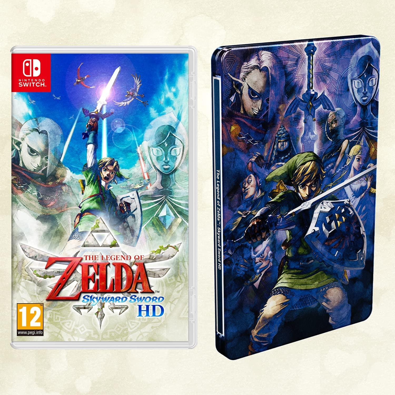 The Legend Of Zelda: Skyward Sword HD + Steelbook & Keyring (Switch) £35.88 Delivered using code @ Shopto via eBay - hotukdeals