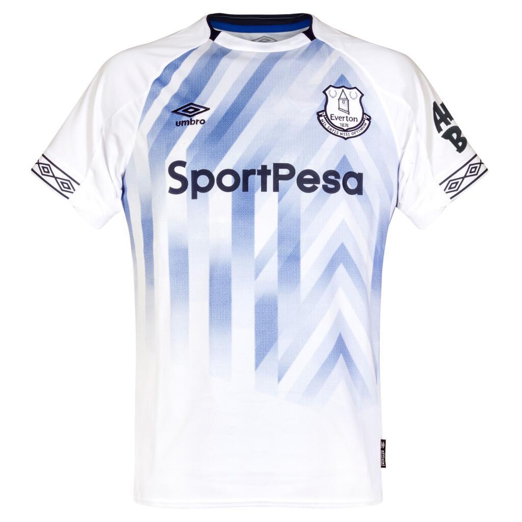 Mens Everton Umbro Third Football Shirt - 2XL £15.99 delivered with code @ sofabsportscic / ebay - hotukdeals