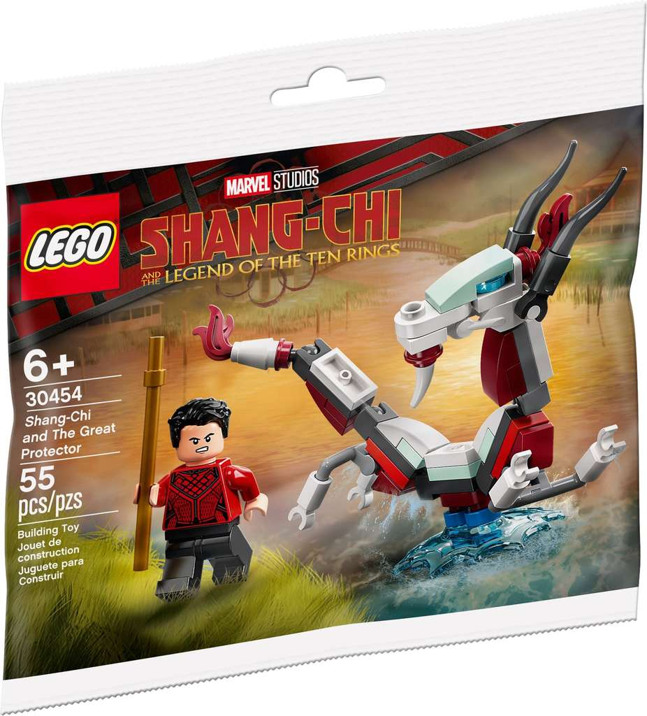 Free LEGO Marvel 20 Shang Chi and the Great Protector when you ...