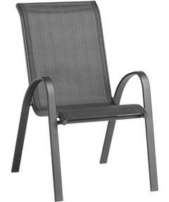andorra black garden balcony patio chair homebase in. Black Bedroom Furniture Sets. Home Design Ideas