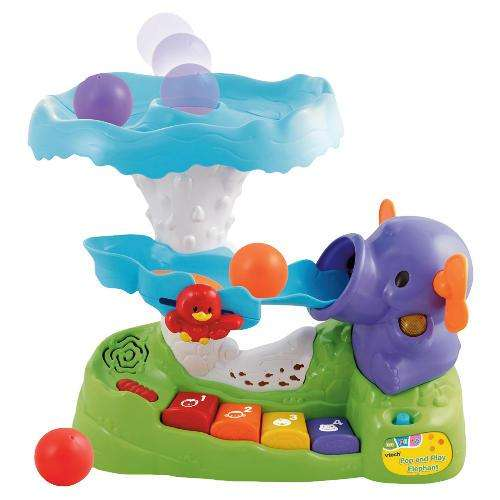 vtech pop and play elephant was now 8 at tesco. Black Bedroom Furniture Sets. Home Design Ideas