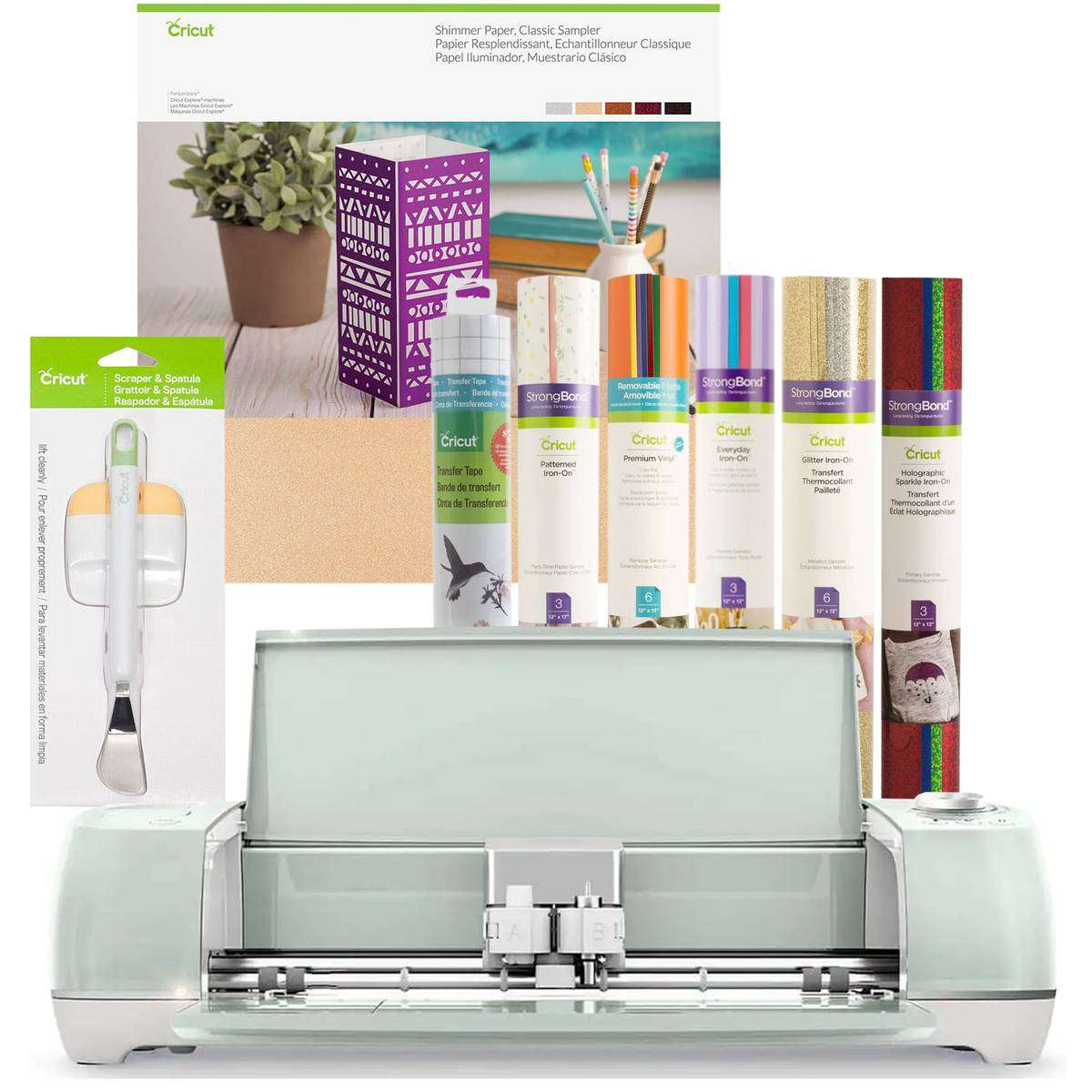 Image result for Cricut Mint Explore Air 2 Black Friday Bundle