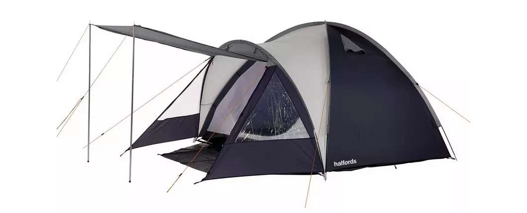 Halfords 4 person double skin tent for £45 delivered