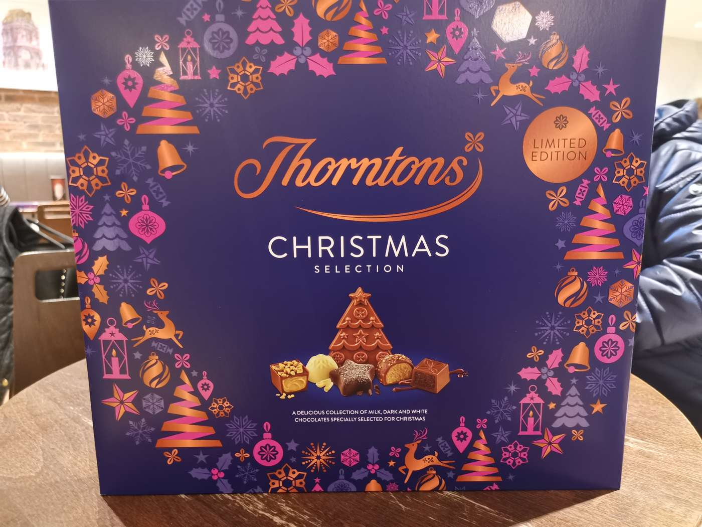 Free Thorntons Xmas Selection Box With A 10 Spend
