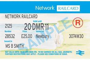 Gold Card Holders - Network Rail Card - £1 (Normally £28) @ National Rail