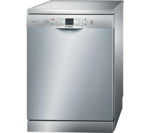 bosch sms40a08gb stainless steel dishwasher £315 delivered at dixons with 2 year  guarantee
