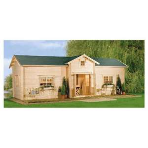 Finnforest Finnlife Helsinki Log Cabin...£9,999.00 Delivered @ Tesco + 19998 clubcard points + 4% Quidco