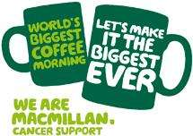 free M&S coffee when ordering fundrasing pack from Macmillan