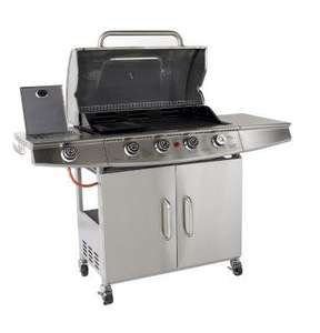 Seattle 4 Burner Gas BBQ down to £90 @ B&Q