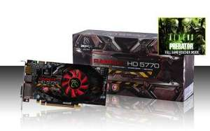 XFX HD 5770 850M 1GB DDR5only £81.99 delivered @ XFX SHOP + Free T-SHIRT