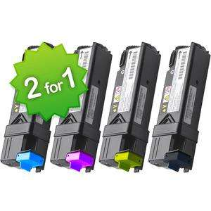 Multipack Compatible Dell 1320 Toners (4) - Buy One Pack Get One Free! Extra 10% off with code @ StinkyInk