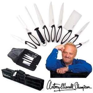 Ultimate Professional Antony Worrall Thompson Knife Set, £17.82 Delivered @ Dealtastic
