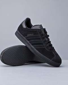 Adidas gazelle 2 black nubuck £32.85 inc delivery and taxes at DRJAYS