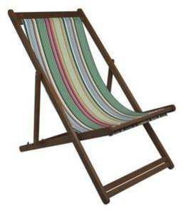 Hawaii Deck Chair - Was £29 Now Just £10 @ B&Q Reserve & Collect