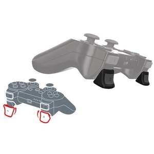 Playstation 3 Black Dual Shock 3 Controller & Free Real Triggers £25.95 @ Playstation Rewards