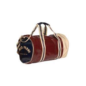 FRED PERRY BARREL BAG.ALL COLOURS @ York Desinger Outlet