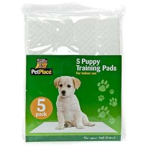5 Puppy Training Pads £1 in Poundland