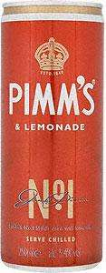 Pimms & Lemonade cans - 4 for £2.99 (75p each) @ Home Bargains