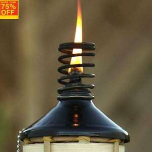 BLOOMA - Bamboo Garden Oil Torch @ B&Q £1 was £5 save 80%