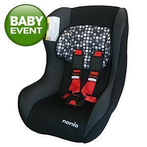 Nania TeamTex Trio Car Seat - £25 @ Asda Direct