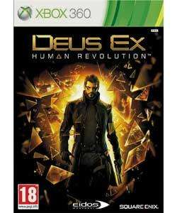 Deus Ex: Human Revolution - XBOX 360 with 800 Free Xbox LIVE points.  £29.99 @ Argos