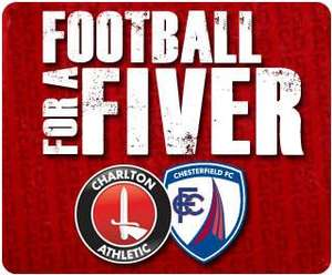 Charlton Athletic Football for a Fiver