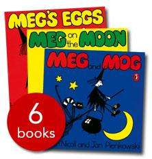 Meg and Mog Collection (6 Books) - £7.99 delivered (using code 241PLUS) @ The Book People