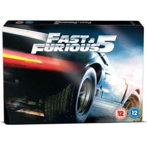 Fast and Furious 5 BluRay Steelbook Triple Play Pre Order £9.93 @ Argos
